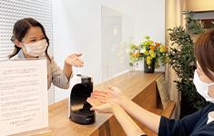 静岡県浜松市でPARTY☆PARTY浜松ラウンジの新型コロナウイルス感染症予防対策アルコール消毒必須