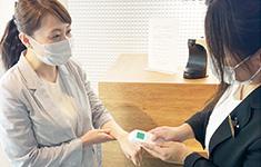 静岡県浜松市でPARTY☆PARTY浜松ラウンジの新型コロナウイルス感染症予防対策検温