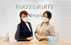 静岡県浜松市でPARTY☆PARTY浜松ラウンジの新型コロナウイルス感染症予防対策受付