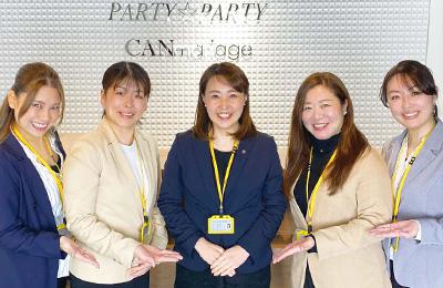 静岡県浜松市で人気の婚活パーティー PARTY☆PARTY浜松ラウンジ